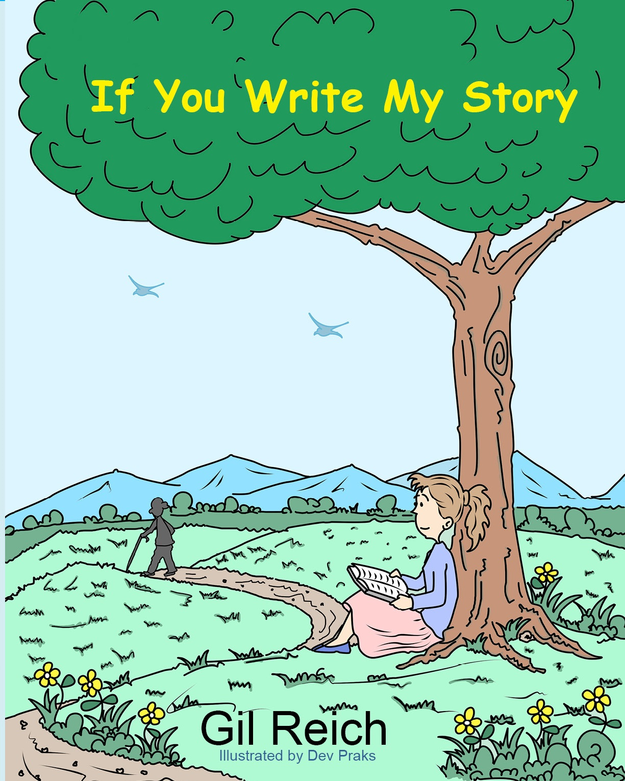 If You Write My Story front cover